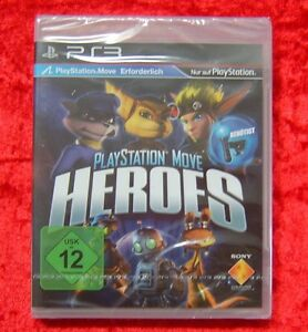Playstation Move Heroes, PS3, PlayStation 3 Spiel, Neu, deutsche Version - Bayern, Deutschland - Playstation Move Heroes, PS3, PlayStation 3 Spiel, Neu, deutsche Version - Bayern, Deutschland