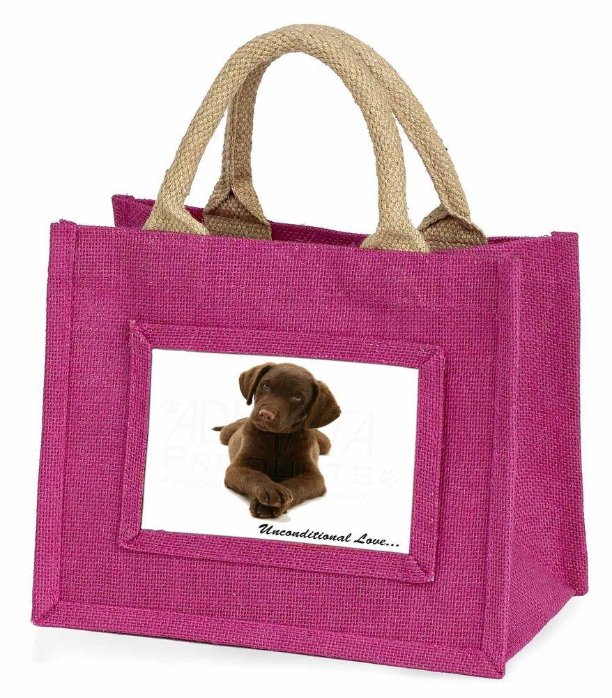 2019 Nouveau Style Chocolate Labrador Puppy Little Girls Small Pink Shopping Bag Christ, Ad-l53ubmp Facile à RéParer