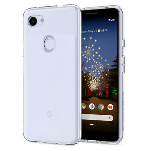 buy online 9649f cafbb Details about Pixel 3a | Spigen® [Liquid Crystal] Crystal Clear Protective  Case Cover