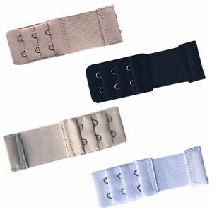 5PCS Women Ladies Bra Extender Extension Strap Underwear Three Rows 2//3 Buckle