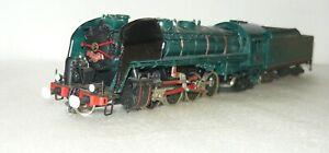 Tenshodo-141R112-der-SNCF-Messing-Handarbeitsmodell-H0-gebraucht-ohne-OVP