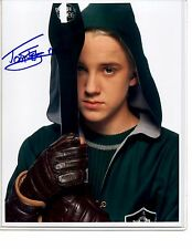 "HARRY POTTER Tom Felton ""Draco Malfoy"" signed autograph photo"