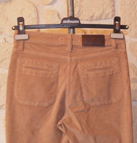 Pantalon Et Emma Taille tiquet Marque Caro Neuf 34 Marron AXwqPrYA
