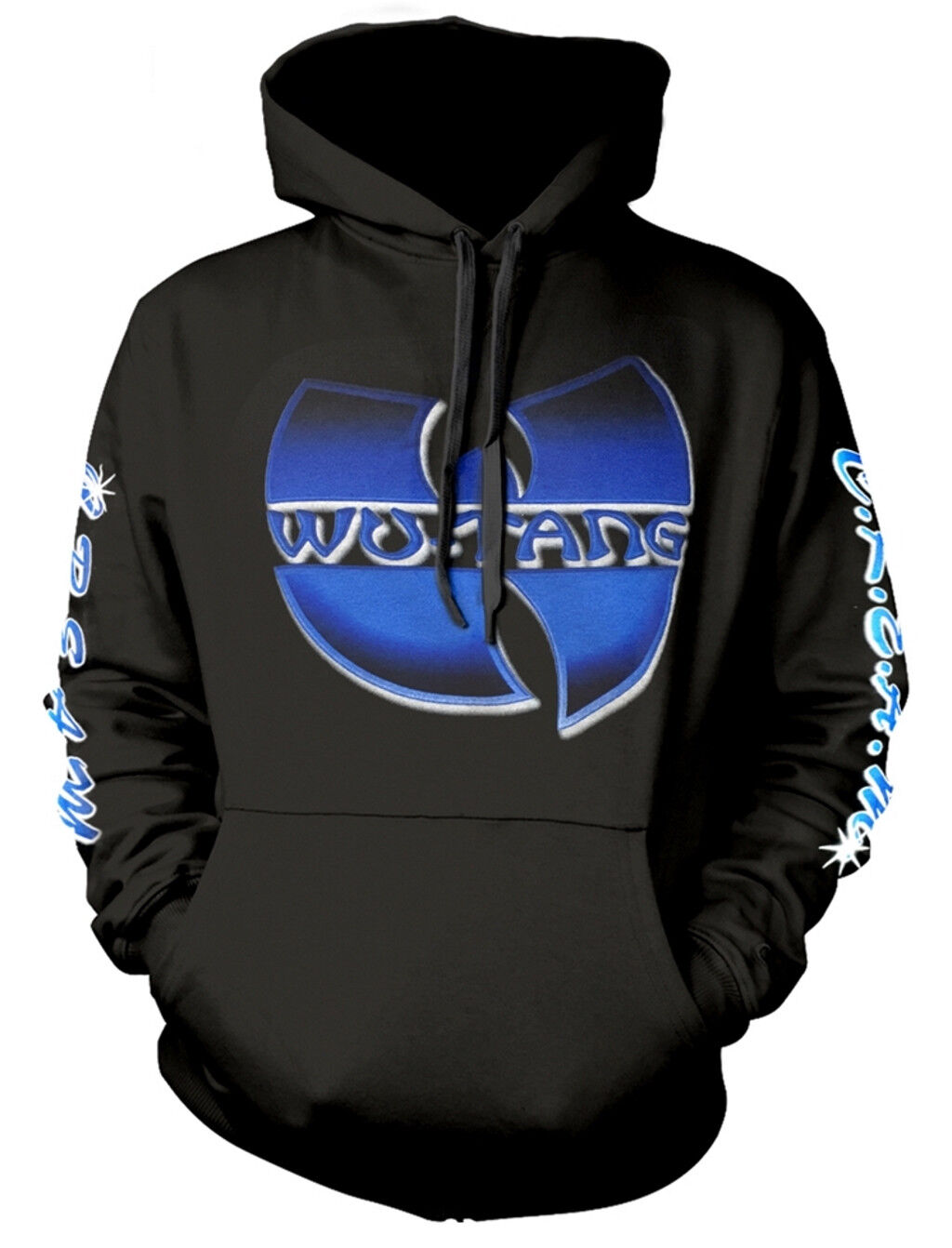 Wu-Tang Clan 'C.R.E.A.M.' Pull Over Hoodie - NEW & OFFICIAL!