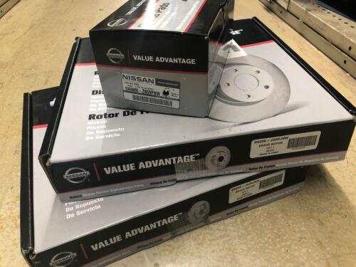 Brake Pad Kit Altima Genuine Nissan Value Advantage DIY Front Brake Rotor