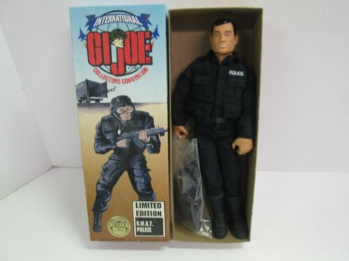 1996 GI JOE SWAT POLICE INTERNATIONAL COLLECTORS CONVENTION CHICAGO FIGURE