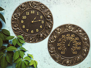 Rose-12-034-Indoor-Outdoor-Wall-Thermometer