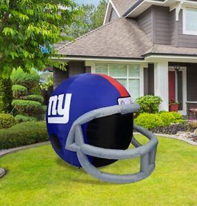 9ea3403881a New York Giants 4-ft Inflatable Helmet NFL License + Pump + LED ...