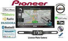 "Pioneer AVIC-8200NEX 7"" GPS DVD Receiver w/ SV-5130.IR Rear Backup Camera"