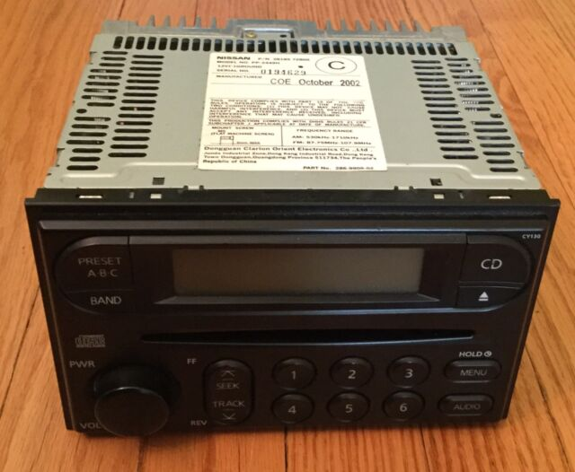 2004 Nissan Xterrafrontier Oem Cy130 Pp2449h Amfm Radio Cd Player Rhebay: 2002 Nissan Xterra Radio Cd Player At Gmaili.net