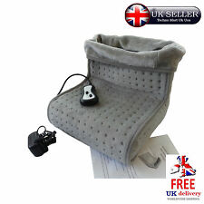 Mother's Day Gifts Foot Massager Warmer Heated Electric Vibration Relaxing