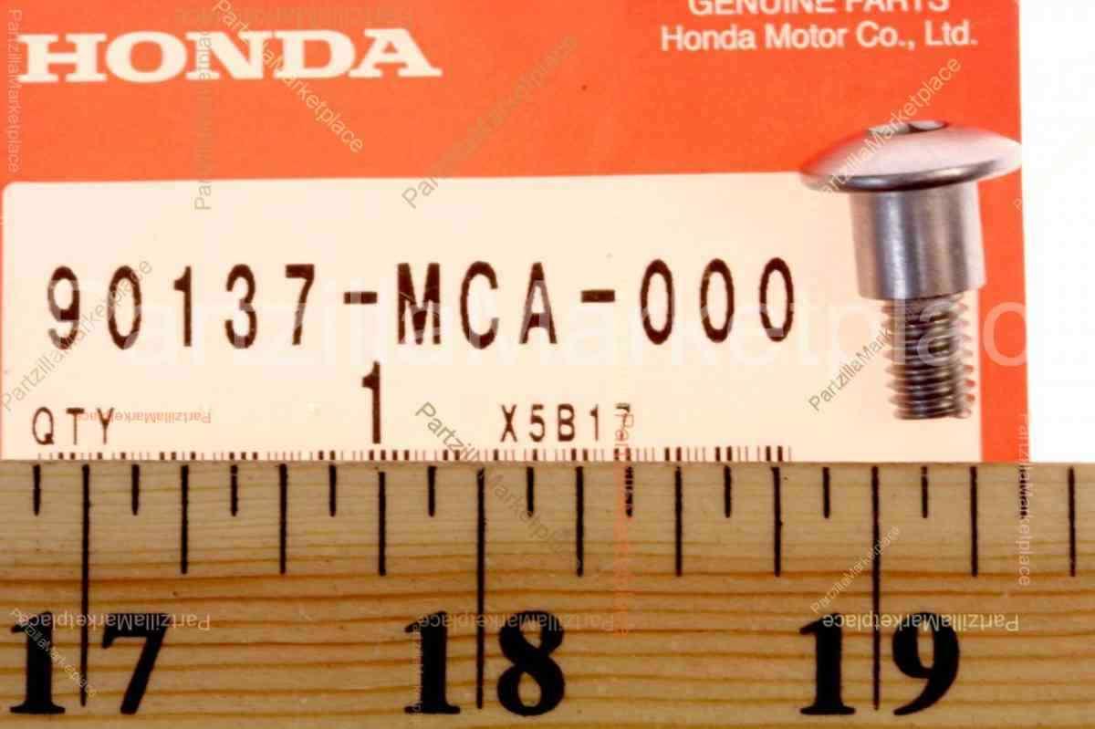 Honda 90137-MCA-000 6MM SCREW  SPECIAL