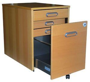 ikea galant rollcontainer mit 4 schubladen in buche ebay. Black Bedroom Furniture Sets. Home Design Ideas