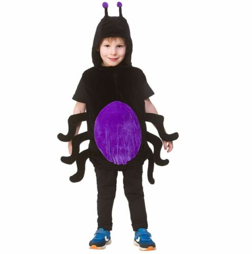 Child Deluxe ANIMAL INSECTS Fancy Dress Tabard World Book Day Kids Boys Girls