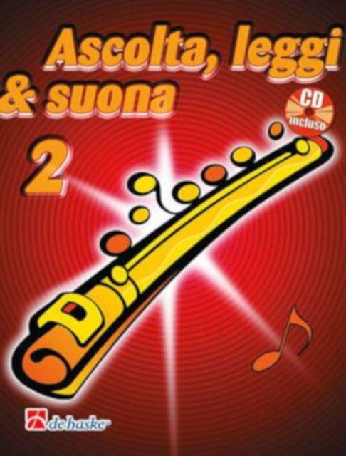 Ascolta, Leggi & Suona 2 - Metodo per flauto DHP 1043509-400