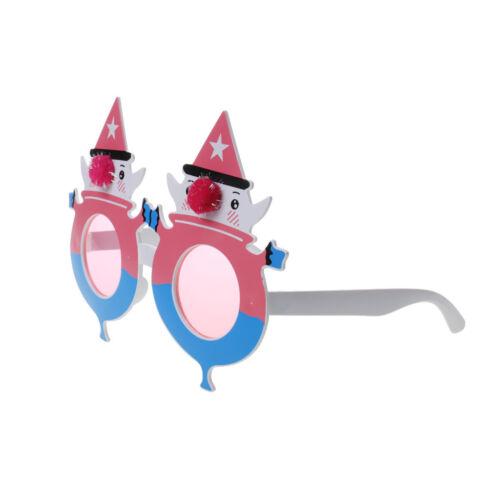 Christmas Sun-glasses Snowman Xmas Star Decoration Funny Costume Glasses