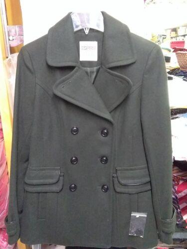 dames Olive en New foncé Manteau Esprit pour mélange de laine Uwnv6qx7v