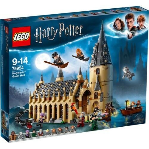 Lego Harry Potter Hogwarts Great Hall Building Set 75954 NEU