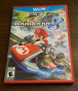 Mario Kart 8 Wii U Nintendo Red Case Tested Working Fast Shipping Family Fun