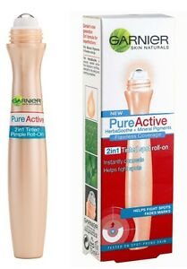 Garnier Pure Active Tinted Spot Roll On 02 Any Skin Type
