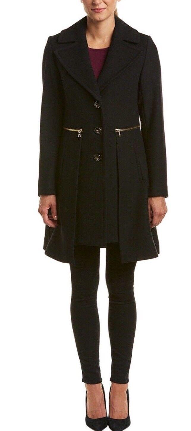 NWT NWT NWT  289 Trina Turk Pea coat size 12-Fast Shipping d2dbaf