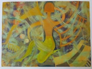 Painting by Rafael Angel Suris ¨Marialyn¨. Original signed by the artist.