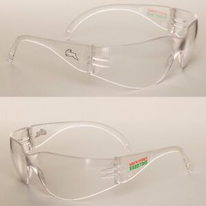 4acbcbca39b1 2 x South Sydney Rabbitohs NRL Safety Eyewear Glasses Carbonate ...