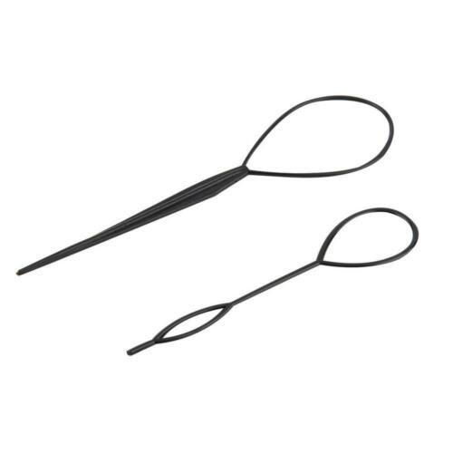 4 Pcs//Set Topsy Tail Hair Braid Ponytail Maker Styling Tool
