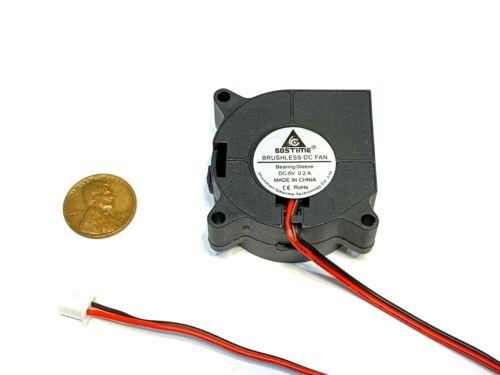 2 Pieces 5v blower fan 4020 40mm x 20mm 40x20 2pin Brushless 4cm gdstime C45