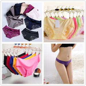 ff39ebb60 Image is loading Womens-Ladies-Sexy-Underwear-Seamless-Knickers-Panties- Sheer-