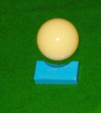 16 Balle Piscine Ou Billard 5.1cm 5.7cm Plateau Bonne Qualité Fort Noir