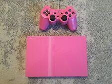 PS2 Consola Rosa Sony PlayStation 2 Slim Consola de Edición Limitada Rosa-Free P + P