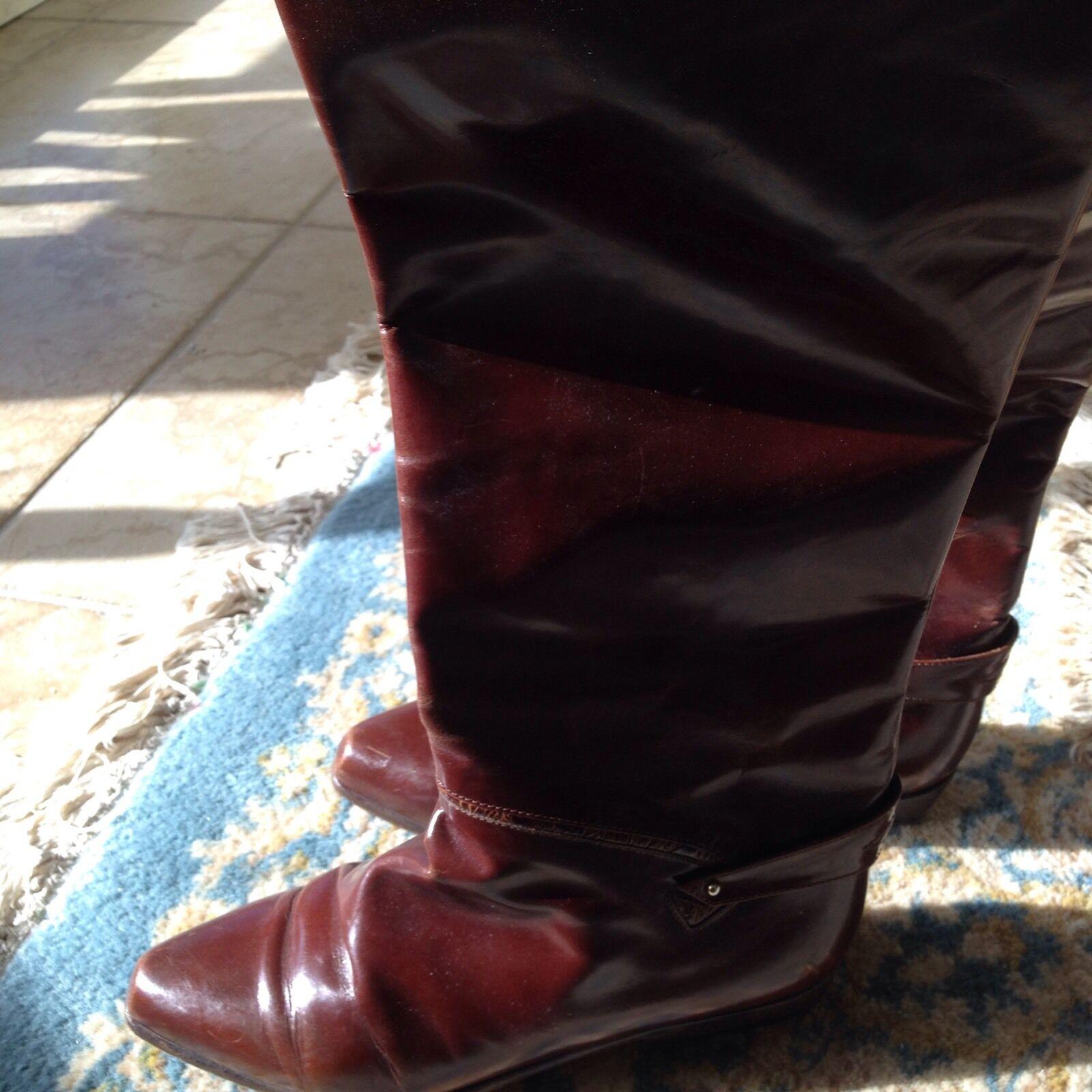 Vero Cuoio Cuero Cuero Cuero Mujer botas De Montar Talla 9 Excelente Condición  compra limitada
