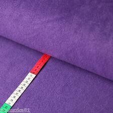 Fleece Stoff Uni Einfarbig Lila-  Polarfleece Vlies - Lambskin