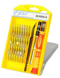 100% Original Jackly JK 6066 B 33 in 1 Magnetic Screwdriver Set Repair Tool Kit