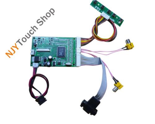 "VGA 2AV LCD Controller Driver Board Kit Work For 4.3/"" TFT AT043TN24 V1 480x272"