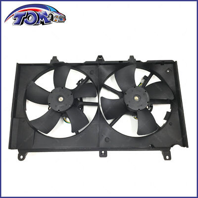 Radiator And Condenser Fan For Nissan 350Z Infiniti G35 NI3115127