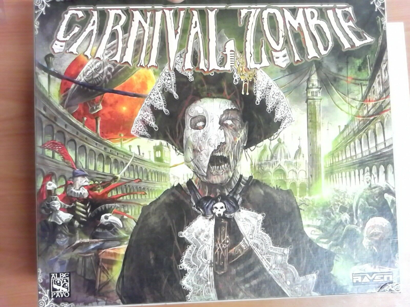 Carnival Zombie Board Game Contents Verified, All Present