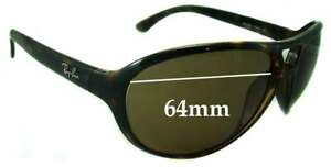 18117bb3d91 Image is loading SFx-Replacement-Sunglass-Lenses-fits-Ray-Ban-RB4090-