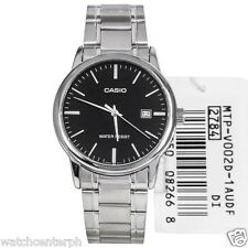 Casio MTP-V002D-1A Analog Men's Black Dial Stainless Steel Watch COD PayPal