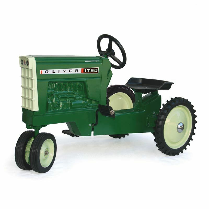 Oliver 1750 Metal Pedal Riding Tractor, Made in USA NEW