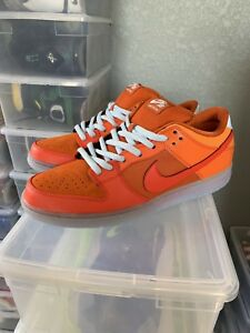 brand new 472d6 19471 Details about BNIB DS Nike Dunk SB Low Gamma Orange Fire and Ice