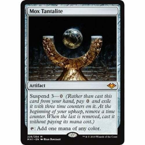 The Gathering foil * Modern Horizons Mox Tantalite Magic