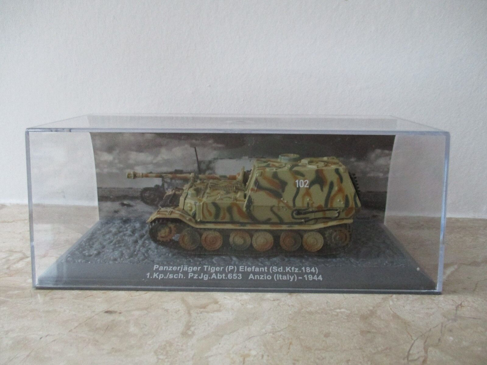 Modellpanzer Panzerjäger Tige(P9 Elefant (Sd.Kfz 184) 1944 Germany Germany Germany Maßstab 1 72 b4ea53