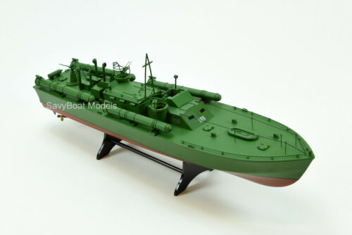 "Kennedy in WW II Wooden Boat Model 26/"" PT Boat 109 John F"