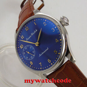 44mm-parnis-blue-dial-6497-movement-hand-winding-Mechanical-mens-watch-P395