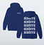 miniatuur 4 - SISTERS-SMALL-FRONT-amp-LARGE-BACK-James-Charles-Hoodie-Make-Up-Artist-Dolan
