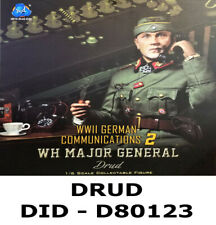 1//6 DID Action Figure WWII German Communications 2 WH Major General Drud D80123