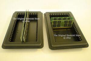 10 DRAM DDR ANTI STATIC MEMORY TRAY-HOLDER-BO<wbr/>X FITS 100 DIMM OR 200 SODIMM NEW