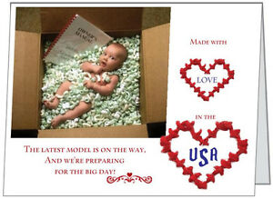 20-Latest-MODEL-Made-in-USA-Baby-Shower-INVITATIONS-amp-ENV-amp-Seals